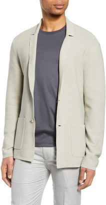 Club Monaco Knit Blazer