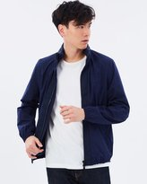 Mng Cotton Blend Hooded Jacket