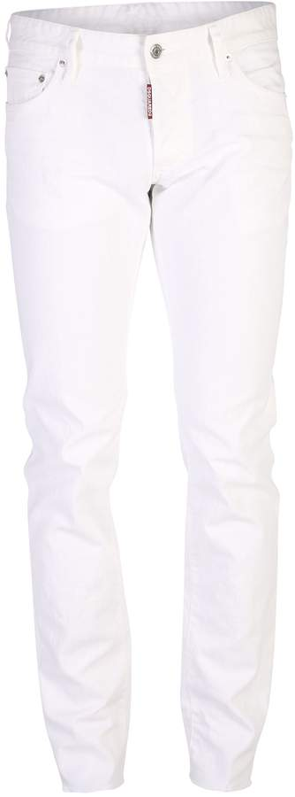 DSQUARED2 White Jeans