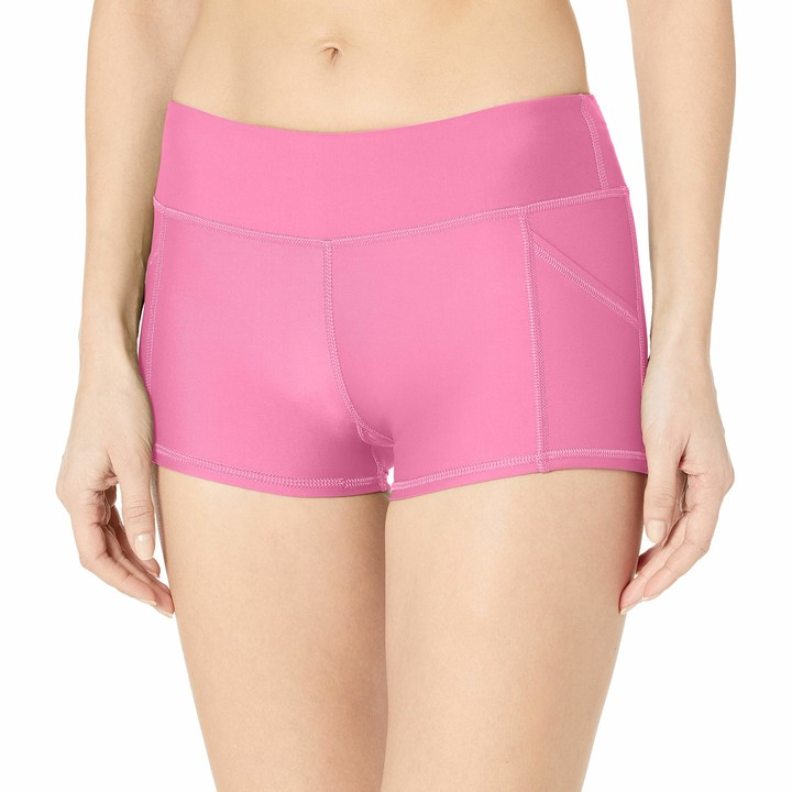 Lands End Womens Comfort Waist 5 Swim Shorts with Panty