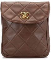 Chanel Pre Owned 1994 diamond quilted belt bag