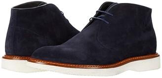 Trask Ralston (Camel Italian Suede) Men's Shoes