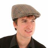 Hawkins Mens Womens Classic Tweed Flat Gatsby Newsboy Cap 57 58 59 61