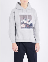 Sandro New Order cotton-blend hoody