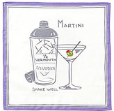 Daniel Cremieux Martini Repeating Print Pocket Square