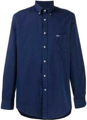 Paul & Shark Button-Down Cotton Shirt
