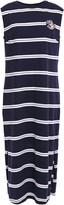 Être Cécile Etre Cecile Appliqued Striped Cotton-jersey Midi Dress