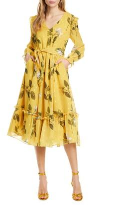 Ted Baker Elissea Savanna Long Sleeve Dress