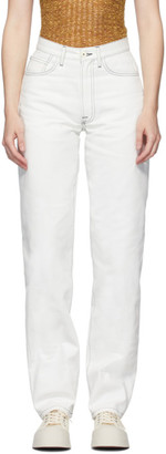 Sunnei White Classic Jeans