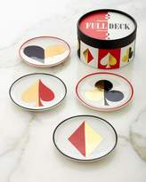 Jonathan Adler Full Deck Coaster Set