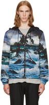 Givenchy Black Dark Hawaii Jacket