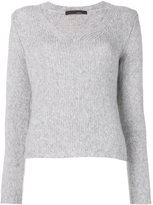 Incentive! Cashmere - knitted V-neck top - women - Cashmere - M