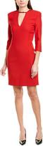 Pinko Wool-Blend Shift Dress
