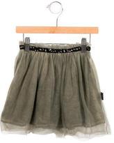 Nununu Girls' Tulle Sequin-Trimmed Skirt