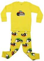 """Elowel Pajamas Elowel Boys """"Truck"""" 2 Piece Pajama Set 100% Cotton - Toddler"""