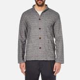 Universal Works Shawl Collar Overshirt Grey
