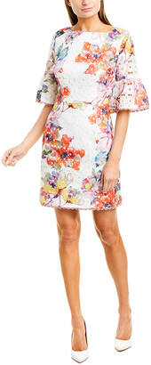 Trina Turk Floral Lace Sheath Dress