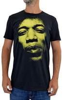 """Faces tshirt FACES Mens T-shirt """"JIMI HENDRIX"""" Water Colors Screen Print (XL Men)"""