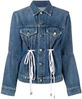 Proenza Schouler PSWL Denim Drawstring Jacket