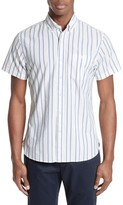 Todd Snyder Men's Trim Fit Stripe Sport Shirt