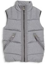 Appaman Boy's East Side Zipper Vest