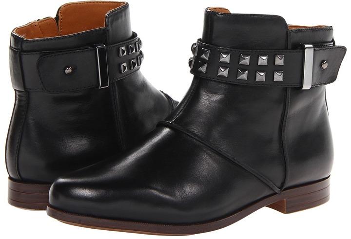 Earthies Treano (Black Full-Grain Leather) - Footwear