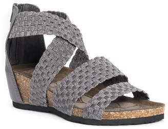 Muk Luks Women Elle Wedge Sandals Women Shoes