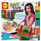 """Alex duct Tape"""""""" 13pc Messenger Bag Set."""