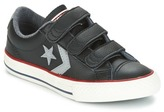 Converse STAR PLAYER EV V STAR PLAYER LEATHER OX BLACK/DOLPHIN/EGRET Black / Grey