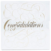 Marks and Spencer Congratulations Script Gift Card