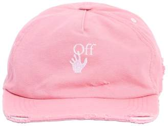 Off-White Off White COTTON BASEBALL CAP
