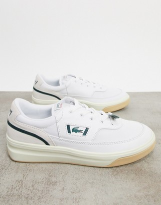 Lacoste g80 chunky sneakers in white
