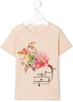Stella McCartney floral print T-shirt - kids - Cotton - 2 yrs