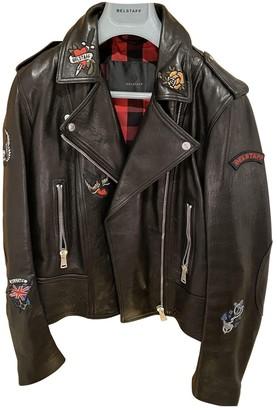 Belstaff Black Leather Leather Jacket for Women