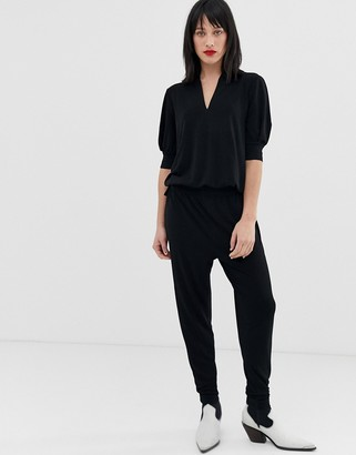 InWear Weronika tailored jumpsuit-Black