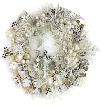Mackenzie Childs Snowfall Festive Wreath
