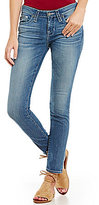 Big Star Alex Whiskered Faded Skinny Jeans
