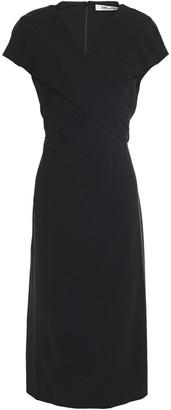 Diane von Furstenberg Crossover Crepe Dress