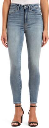 Mavi Jeans Scarlett SuperSoft High Waist Ankle Skinny Jeans