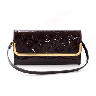 Louis Vuitton Rossmore Purple Patent leather Clutch bags