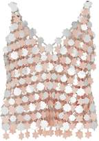 Paco Rabanne Silver-tone Chainmail Tank