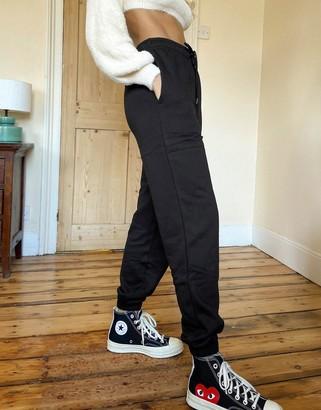 Topshop harley jogger in black