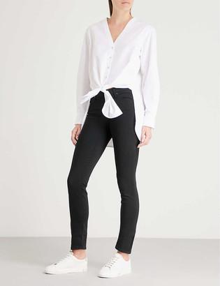 AG Jeans Prima cigarette mid-rise jeans