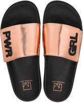 Material Girl Paige Pool Slide Sandals, Created for Macy's Women's Shoes