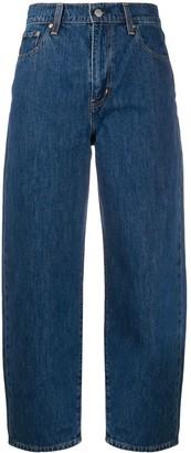 Levi's Balloon-leg high-rise jeans