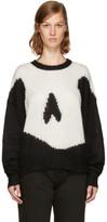 McQ Black Giant Swallow Sweater
