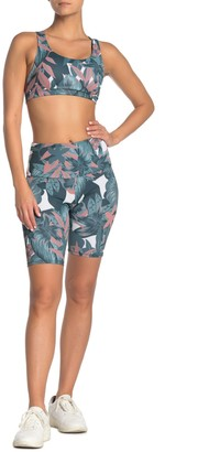 Onzie Printed High Rise Biker Shorts