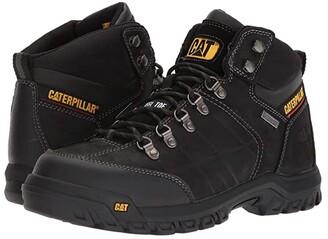 Caterpillar Threshold Waterproof Steel Toe (Brown) Men's Work Boots