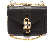 Chloé Aby Mini Leather Shoulder Bag - Womens - Black