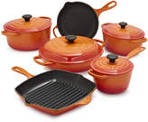 Le Creuset Signature Flame 10-Piece Set